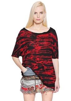Faith Tie Dye Linen Jersey T-shirt