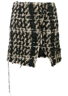 Faith tweed mini skirt