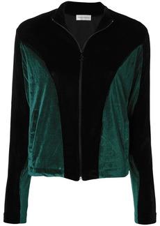 Faith two-tone zipped jacket