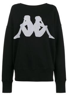 Faith x Kappa printed sweatshirt