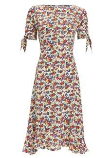 Faithfull the Brand Emilia Floral Crepe Dress