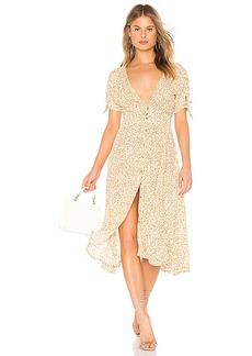 FAITHFULL THE BRAND Billie Midi Dress