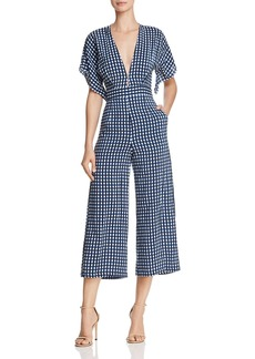 Faithfull the Brand Cedric Checkered Jumpsuit - 100% Exclusive