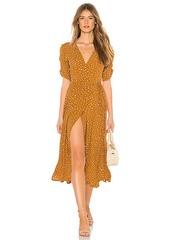 FAITHFULL THE BRAND Chiara Midi Dress