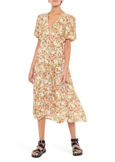 Faithfull the Brand Delia Floral Midi Dress