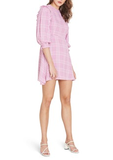 Faithfull the Brand Edwina Puff Sleeve Minidress