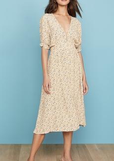 FAITHFULL THE BRAND Farah Midi Dress