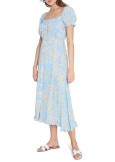 Faithfull the Brand Ina Floral Midi Dress