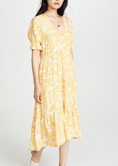 FAITHFULL THE BRAND La Falaise Midi Dress