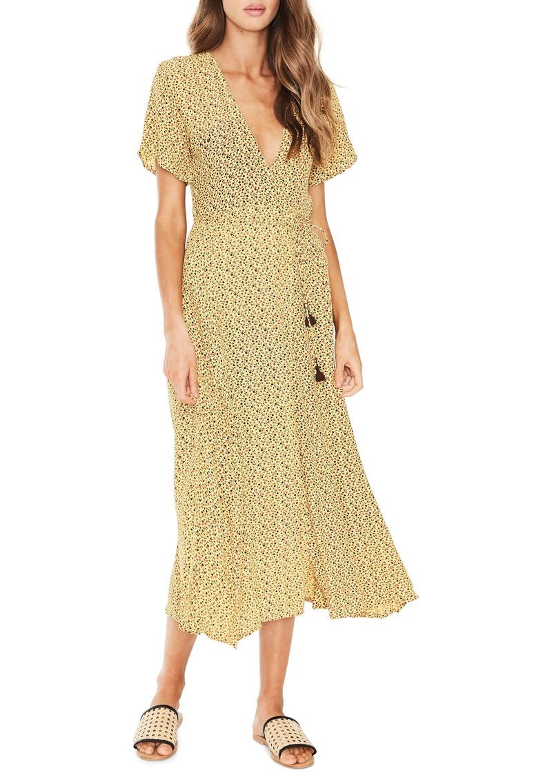 e4b2db9a4310c Faithfull the Brand FAITHFULL THE BRAND Leila Floral Wrap Dress ...