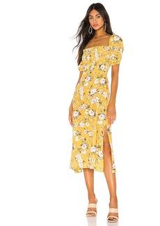 FAITHFULL THE BRAND Majorelle Dress