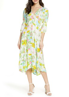 Faithfull the Brand Maud Floral Midi Dress