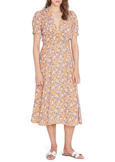Faithfull the Brand Meadows Floral Midi Dress