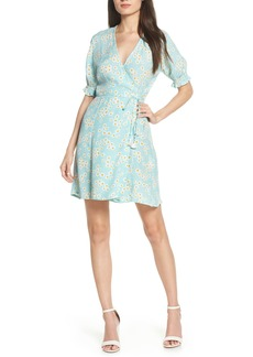 FAITHFULL THE BRAND Mira Floral Wrap Dress