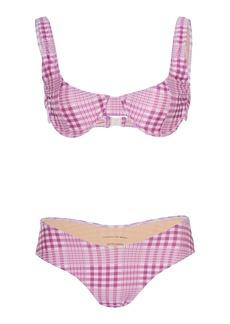 Faithfull The Brand Pernille Checkered Bikini Set