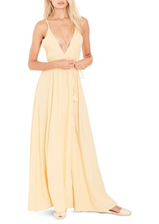 FAITHFULL THE BRAND Santa Rose Strappy Maxi Dress