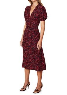 Faithfull the Brand Sumaia Midi Wrap Dress
