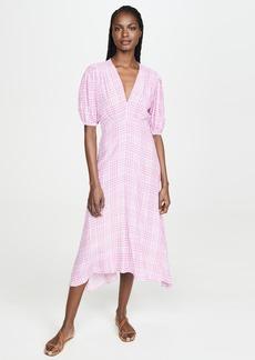 FAITHFULL THE BRAND Vittoria Midi Dress