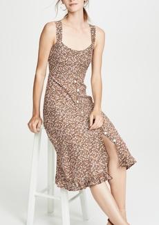 FAITHFULL THE BRAND Yasmin Midi Dress