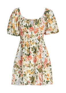 Faithfull the Brand Le Temps Des Fleur Nikoleta Dress