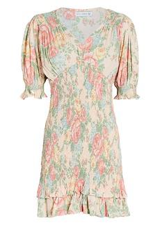 Faithfull the Brand Margherita Floral Mini Dress