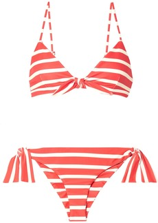 Faithfull the Brand Taylor And Elsa Striped Triangle Bikini