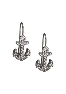 Fallon Anchor Hook Earrings