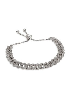 Fallon Armure Pave Curb Chain Toggle Bracelet