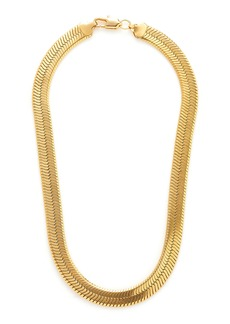 FALLON - Women's Gold-Tone Brass Collar Necklace - Gold - Moda Operandi
