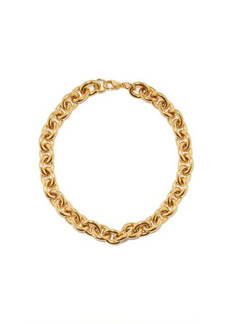 Fallon Alexandria 18kt gold-plated necklace