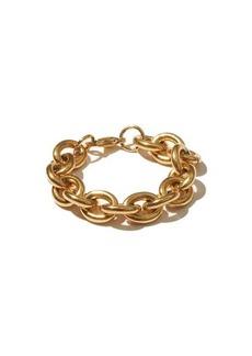 Fallon Alexandria rolo-chain gold-plated bracelet