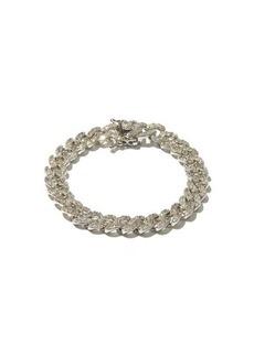 Fallon Crystal-pavé curb-link bracelet