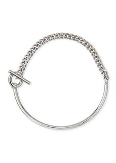 Fallon Curb Chain Toggle Collar