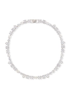 Fallon Jagged Edge Cubic Zirconia Necklace