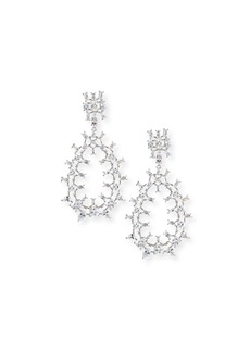 Fallon Monarch Oversized Crystal Teardrop Earrings