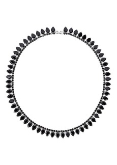 Fallon Monarch Pointed Choker Necklace  Red