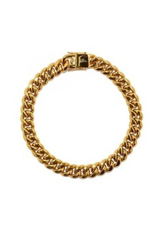 Fallon Ruth 18kt gold-plated curb-chain necklace