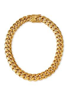 FALLON Ruth Curb Chain Collar  16mm