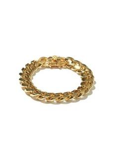 Fallon Ruth medium curb-chain gold-plated bracelet
