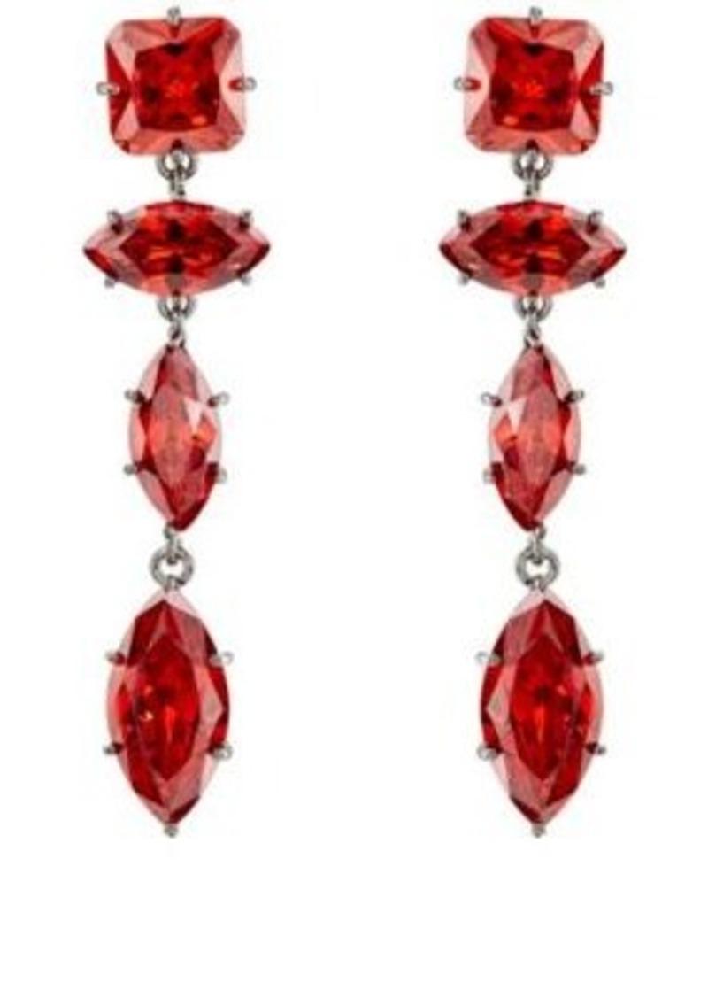 512f846a4 Fallon Fallon Women's Jagged Edge Marquis Drop Earrings | Jewelry