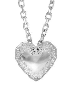 Fallon Heart Pendant Necklace