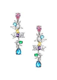 Fallon Jagged Edge Firecracker Drop Earrings
