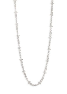 Fallon Jagged Edge Pavé Necklace