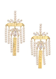Fallon Monarch Chandelier Earrings