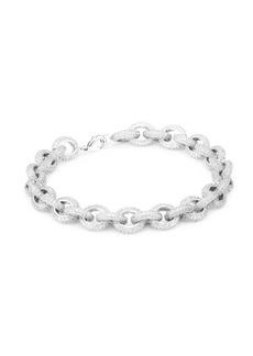 Fallon Pavé Chain Link Bracelet