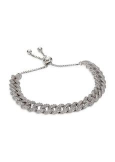 Fallon Pavé Curb Chain Bracelet