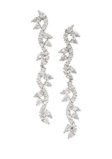 Fallon Pave Micro-Vine Drop Earrings