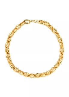 Fallon Toscano Goldplated Chain Choker Necklace