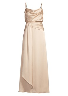 Fame and Partners Anita Draped Gown