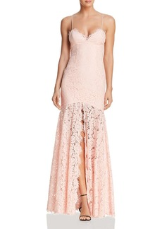 Fame and Partners The Babe Lace Gown